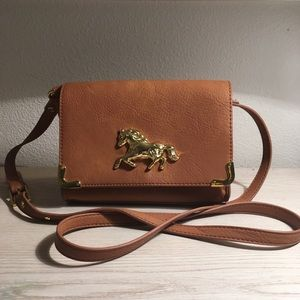 ASOS tan crossbody bag